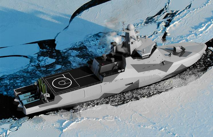 """""""Ivan Papanin"""" and the 23550 project. Warship for peace work"""