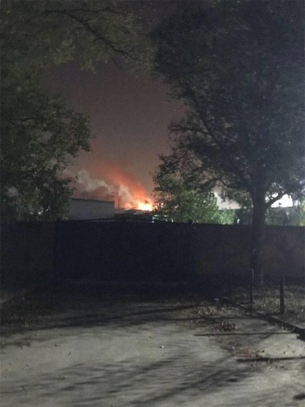 """""""Mais forte que o TNT"""": uma explosão em uma usina com uma usina de biocombustível no rio Dnieper"""