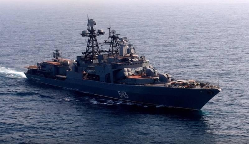 Verbessertes BSB-Projekt 1155 qualifiziert sich erneut als Fregatte