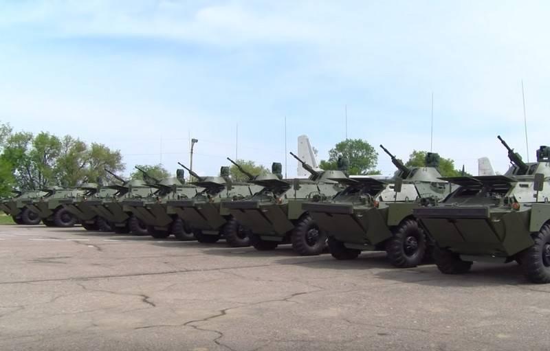 रूस ने ताजिकिस्तान को सैन्य उपकरणों और हथियारों का एक और बैच सौंपा