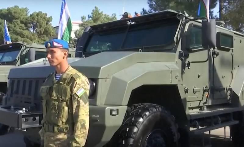 """उजबेकिस्तान ने रूस में बख्तरबंद वाहनों """"टायफून-के"""" 4X4 का एक बड़ा बैच खरीदा"""