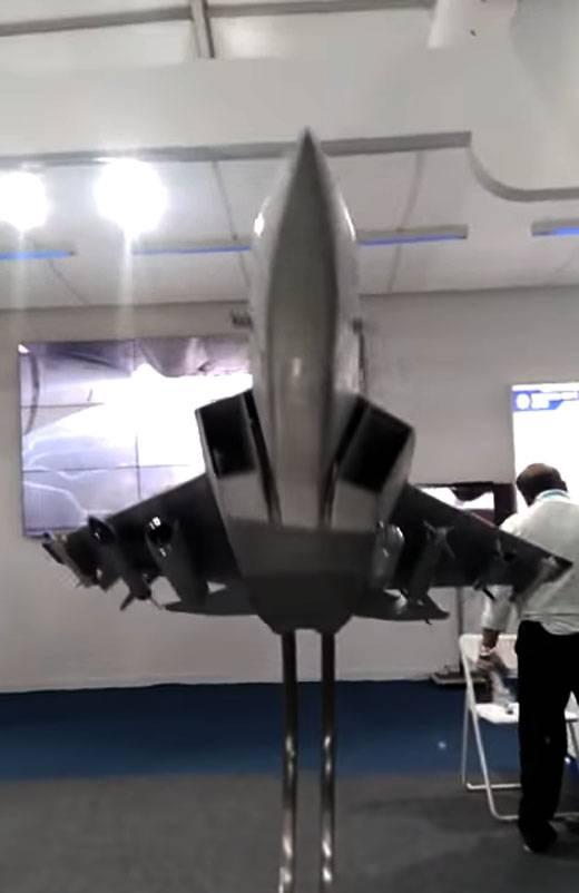 A Força Aérea Indiana decidiu sobre o conceito de um caça de nova geração da AMCA