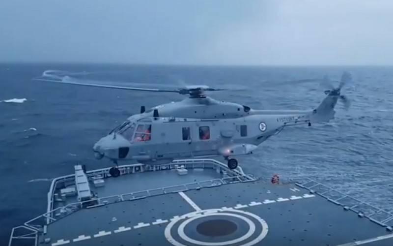 O primeiro helicóptero NH90 Sea Lion entrou em serviço com a Marinha Alemã
