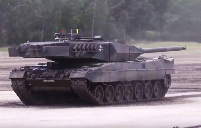 """""""克里米亚事件发生后的现代化"""":德国联邦国防军获得了第一辆现代化坦克豹2A7V"""