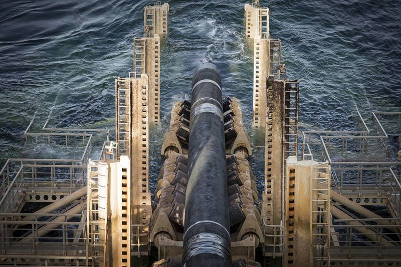 "Denmark gave permission for the construction of ""Nord stream-2"" in its waters"