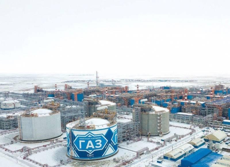Россия вступила в глобальную гонку за рынок СПГ