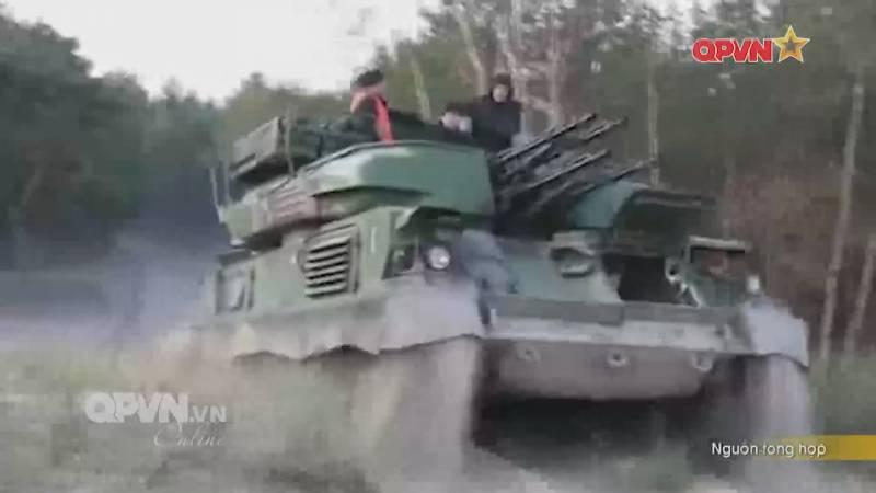 Вьетнамская глубоко модернизированная ЗСУ-23-4 «Шилка»
