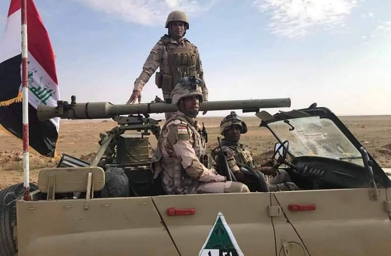 इराक में, रूसी उज़, मोबाइल एंटी-टैंक सिस्टम में बदल गया