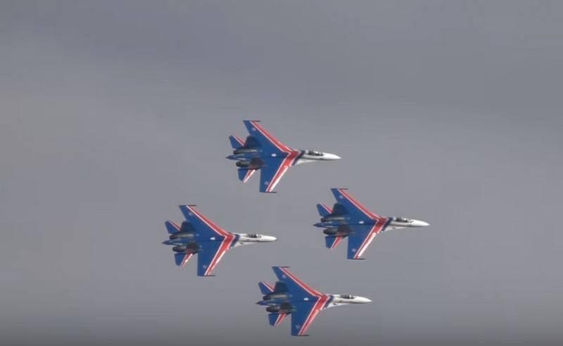 俄罗斯骑士特技飞行队将接收新的Su-35С战斗机