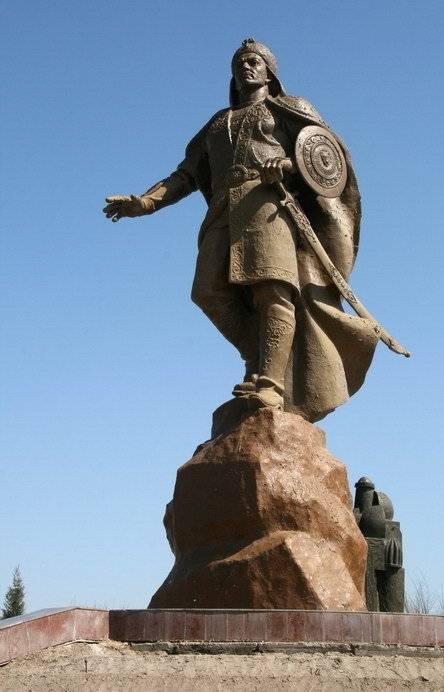 Empire de Gengis Khan et Khorezm. Dernier héros