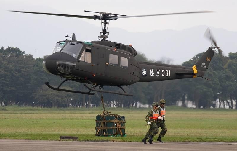Taiwan a radié les derniers Iroquois: des hélicoptères Bell UH-1Н retirés du service