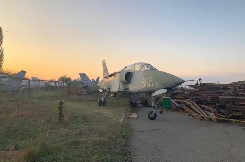 塞尔维亚从储存库中移出并重新使用HЈ-22Orao攻击机