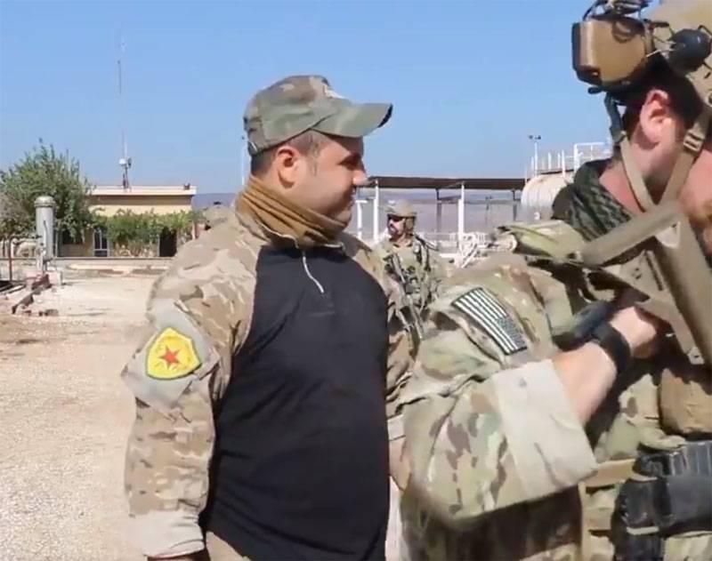 सीरियाई तेल क्षेत्र में अमेरिकी विशेष बलों के साथ वाईपीजी की उपस्थिति से तुर्की नाराज हो गया