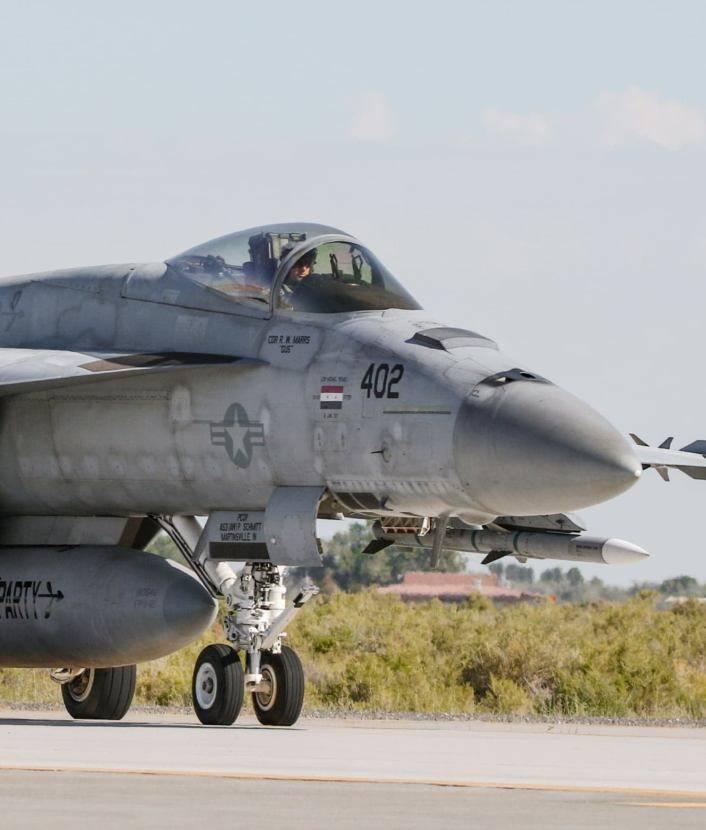 """Un chasseur-bombardier de la marine américaine a reçu un signe de """"séchage"""" abattu en Syrie"""
