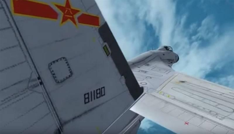 """Die chinesische Version des Su-27 erhielt ein Radar mit AFAR """"um Ziele in den drei Elementen zu verfolgen"""""""
