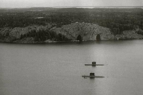 地下机队。 瑞典海军重返Musko基地