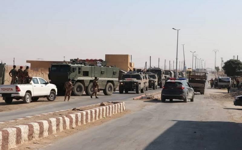 फुटेज रूसी सेना के सीरिया में अमेरिकी अड्डे पर कब्जा करते हुए दिखाई दिया
