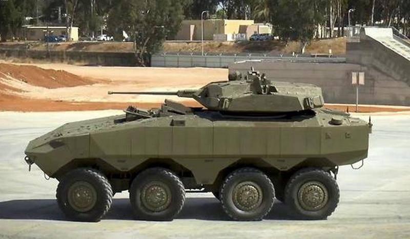 """Die israelischen Panzertrupps """"Eitan"""" und """"Namer"""" erhalten ein neues unbewohntes Kampfmodul"""