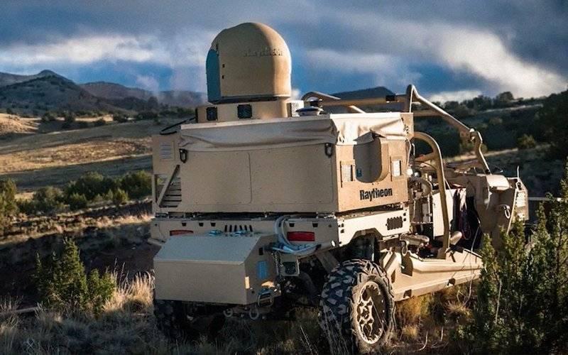 Pentagon befahl die Entwicklung eines Schutzsystems gegen Laserwaffen