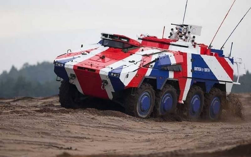 ब्रिटिश रक्षा मंत्रालय ने 500 BTR GTK बॉक्सर 8x8 की खरीद की घोषणा की
