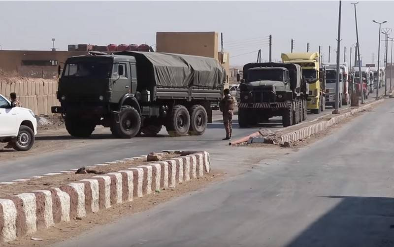 Turkey accused Russia of supplying the Syrian Kurds arms and ammunition