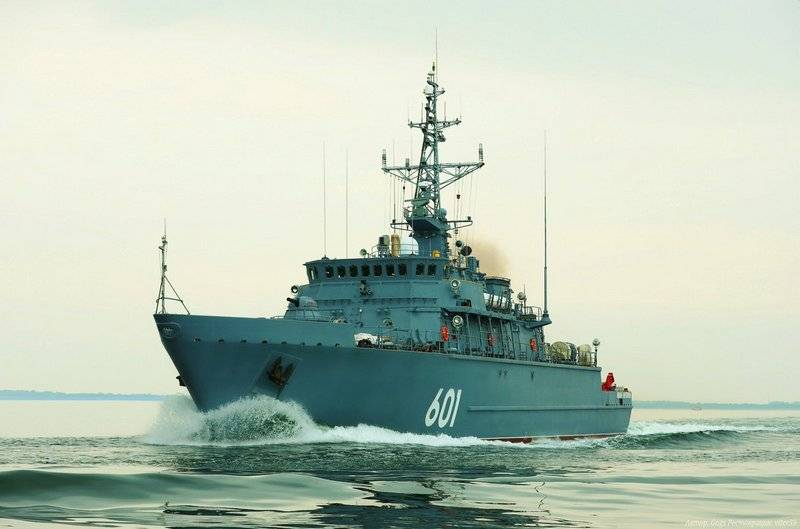 "Indian Navy may be replenished with Russian naval minesweepers ""Alexandrite"""