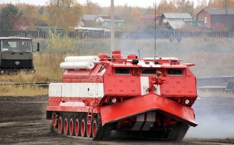 """Em Omsk retomou a produção de """"tanques de incêndio"""""""