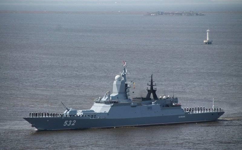 """俄罗斯海军可能会收到新的""""隐形护卫舰"""""""