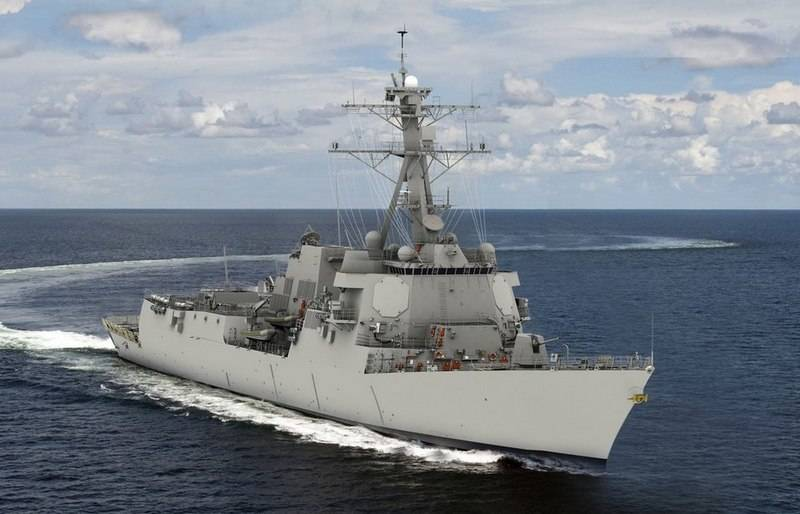 Next-generation Arleigh Burke type destroyer launched in the US
