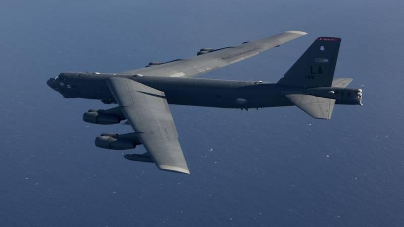 Three American strategists B-52N left Europe