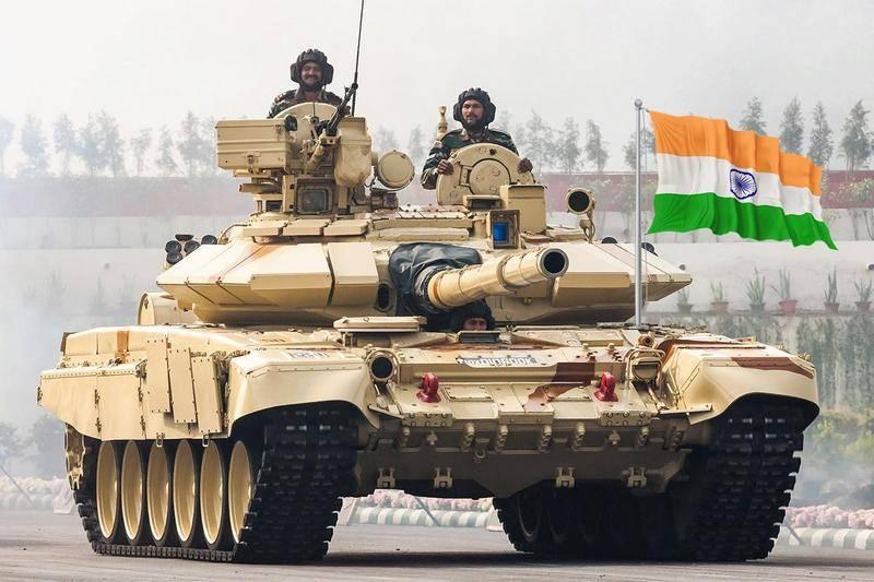 印度国防部签定了俄罗斯T-90MS坦克的组装合同