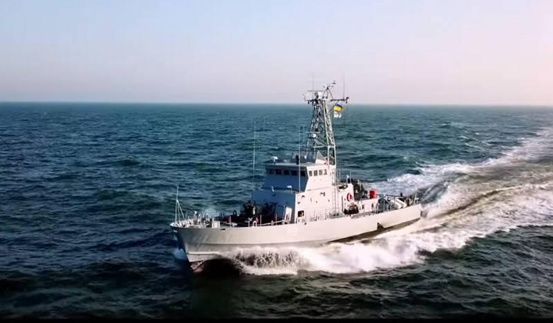 यूक्रेनी द्वीप प्रकार की नौकाओं ने समुद्री परीक्षण शुरू किया