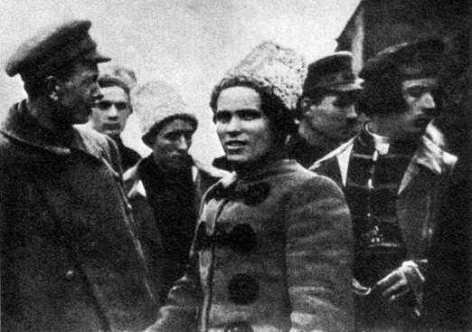 Makhno's blow to Denikin