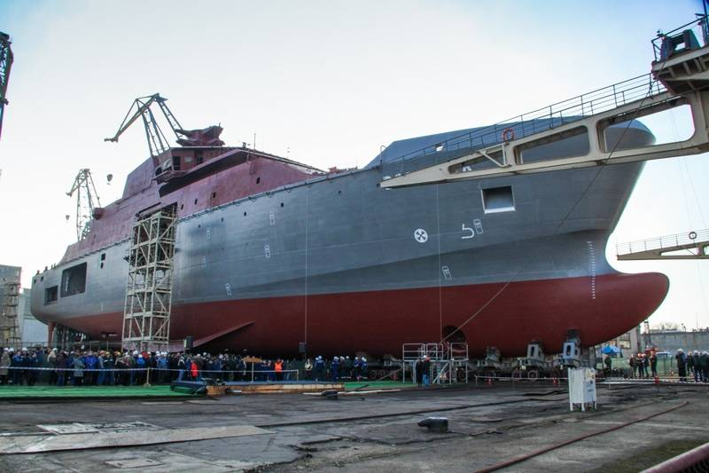 23700 Project Rescue Vessel Launched in Kaliningrad