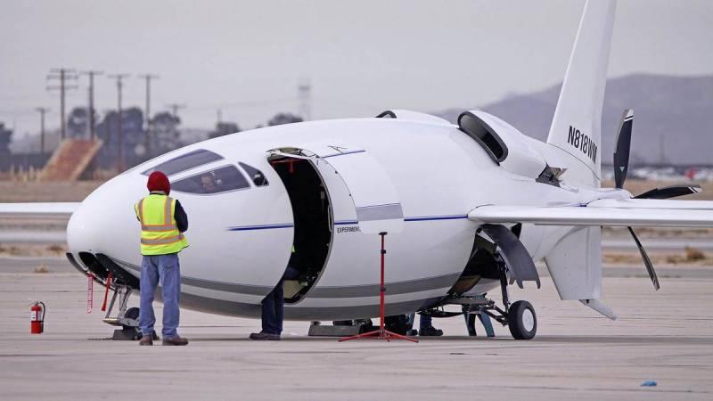 L'avion américain secret Celera 500L effectue son premier vol