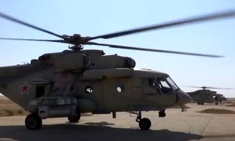 俄罗斯直升机扩大叙利亚北部的巡逻区