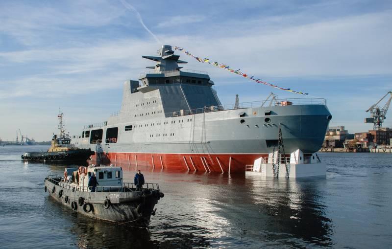 La marine russe a l'intention de s'armer de brise-glace de combat