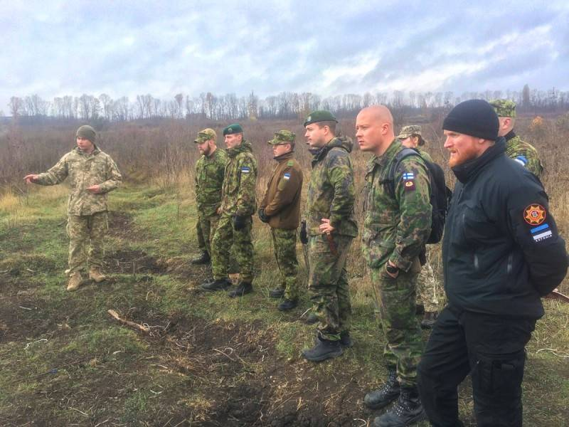 The military of Estonia and Finland decided to learn from Ukrainian colleagues