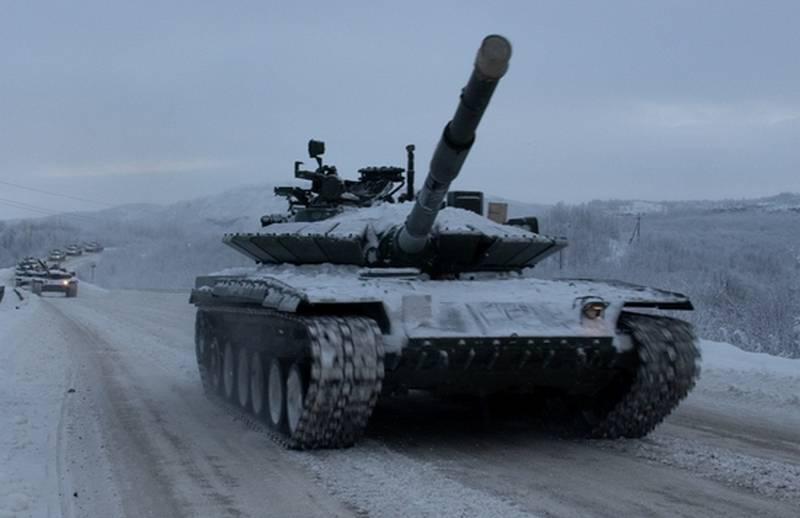 Die 200-I-Motorgewehrbrigade SF hat die Aufrüstung des modernisierten T-80BVM abgeschlossen
