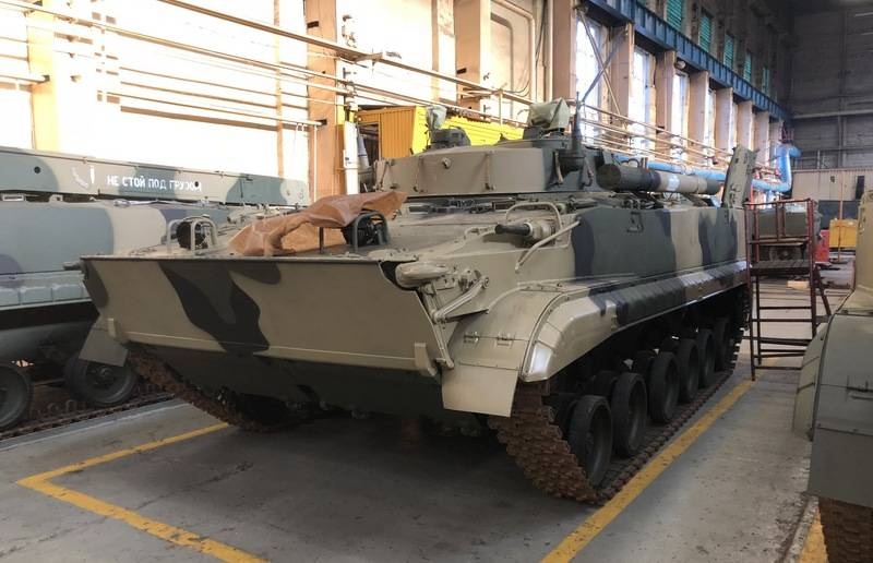 The Ministry of Defense issued a new contract for the production of BMP-3
