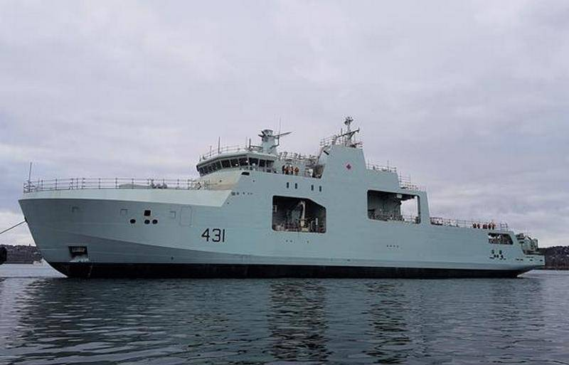 The second Arctic patrol ship launched in Canada