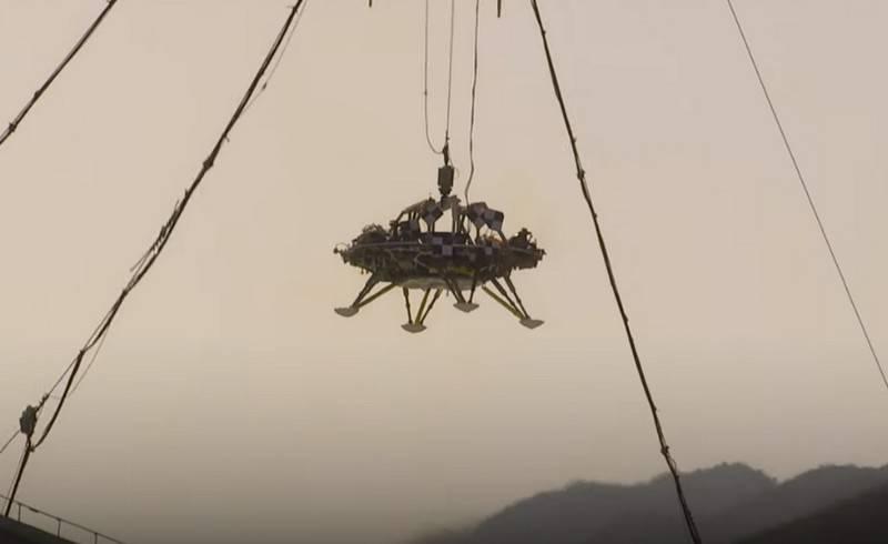 La Chine teste avec succès une plateforme d'atterrissage pour la mission martienne
