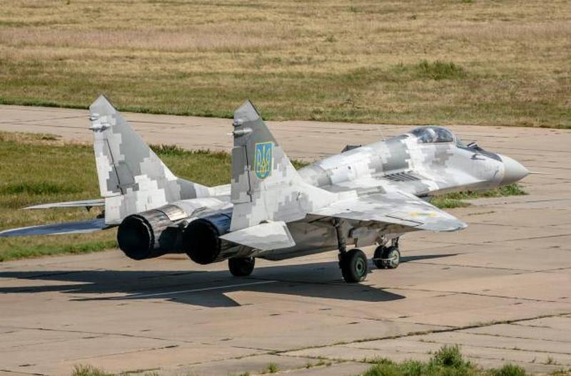 """यूक्रेन के सशस्त्र बलों के सशस्त्र बलों ने एक और """"आधुनिक"""" मिग-एक्सएनयूएमएक्स लड़ाकू प्राप्त किया"""