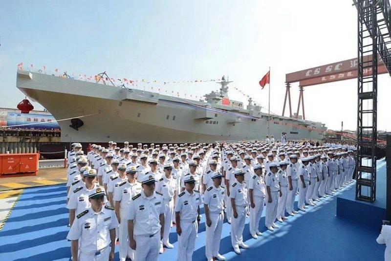 """China hat mit dem Bau des dritten UDC-Projekts """"Type-075"""" begonnen"""