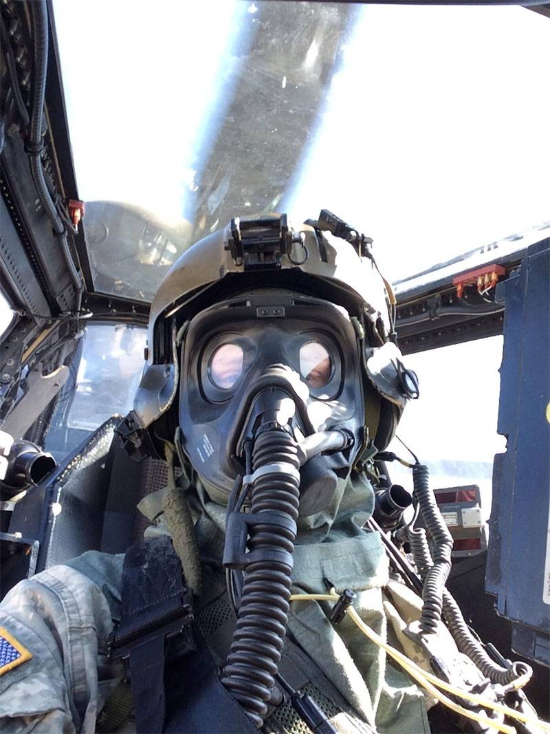 In the USA, they talked about the appointment of MPU-6 special masks for army pilots
