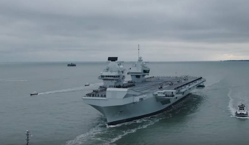 Britain is preparing to adopt a second aircraft carrier