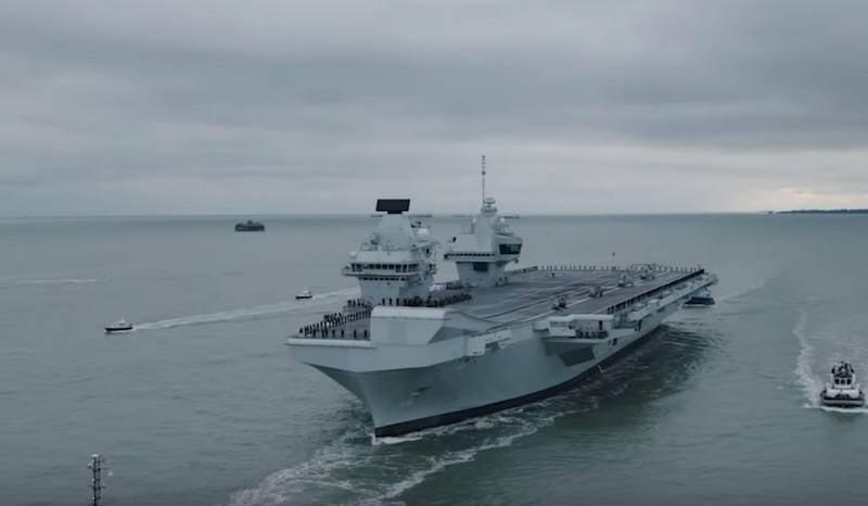ब्रिटेन दूसरे विमानवाहक पोत को अपनाने की तैयारी कर रहा है