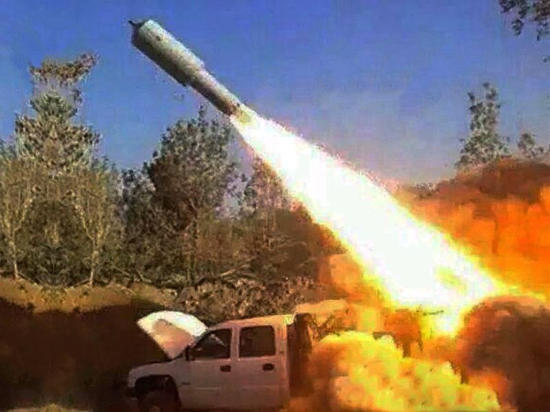 इज़राइल में: फिलिस्तीनियों ने 400 किलोग्राम वारहेड के साथ रॉकेट तैनात किया