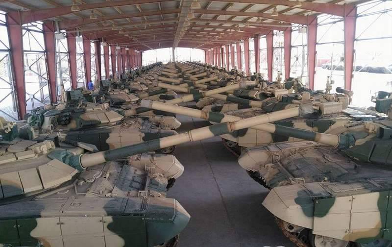 Russland und der Irak bereiten sich auf die zweite Lieferstufe der russischen T-90С-Panzer vor