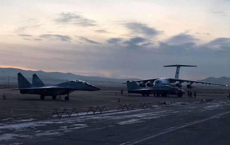 L'aeronautica mongola ha ricevuto due combattenti russi MiG-29